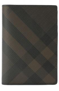 Обложка для паспорта с отделением для кредитный карт Burberry