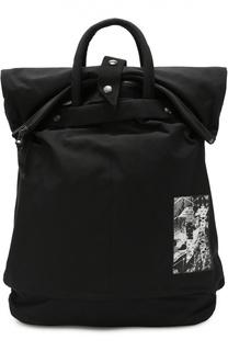 Текстильный рюкзак с контрастной отделкой 11 by Boris Bidjan Saberi