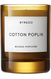 Свеча Cotton Poplin Byredo