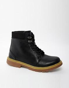 Ботинки на толстой подошве D-Struct - Черный