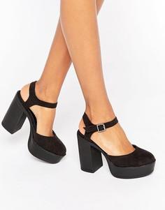 Туфли на платформе New Look - Черный