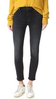 Укороченные джинсы скинни Looker Mother
