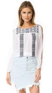 Рубашка с вышивкой Ondade Mar