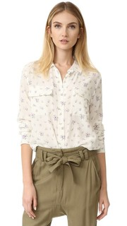 Облегающая фирменная блуза Equipment