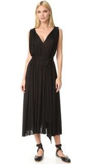 Платье с V-образным вырезом Barbara Bui