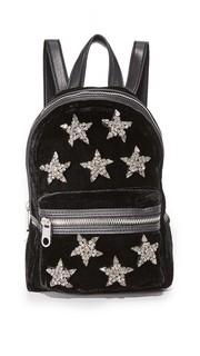 Миниатюрный бархатный рюкзак Knox Cynthia Rowley