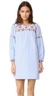 Платье с вышивкой English Factory