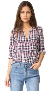 Блуза на пуговицах Iloani Joie