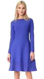 Платье с широкой юбкой Lela Rose