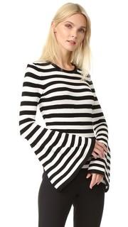 Пуловер с расклешенными рукавами Milly