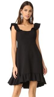 Платье Lindsey из ткани кади двойного плетения Milly