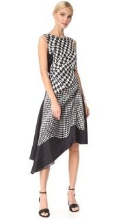 Платье с принтом Monse