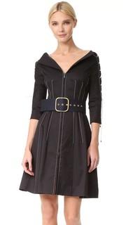 Платье с V-образным вырезом Monse