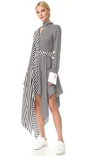 Платье в полоску Monse