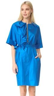 Платье с пуговицами спереди Nina Ricci