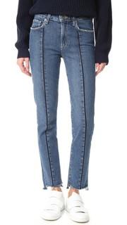 Винтажные джинсы Julia с неровным нижним краем Paige
