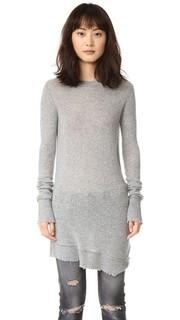 Кашемировый свитер с эффектом поношенности R13