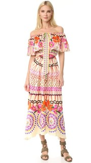 Платье с завязками Dreamcatcher Temperley London