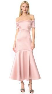 Вечернее миди-платье Onyx Temperley London