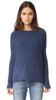 Объемный свитер с округлым вырезом Vince