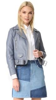 Байкерская куртка из искусственной кожи Acne Studios