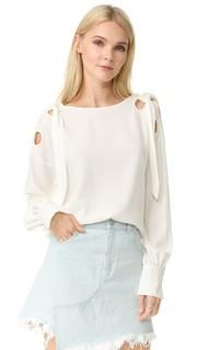 Блуза с завязками Mayka Designers Remix