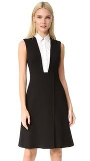 Платье-рубашка без рукавов Lela Rose