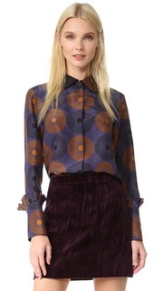 Блуза с длинными рукавами Nina Ricci