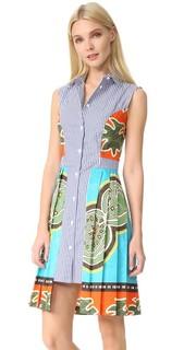 Платье в полоску без рукавов Stella Jean