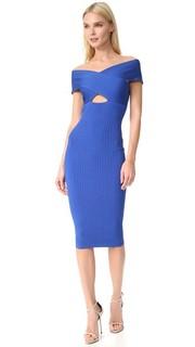 Платье-футляр с открытыми плечами Cushnie Et Ochs