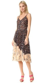 Платье без рукавов с цветочным принтом Jason Wu