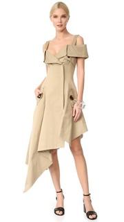 Платье с открытыми плечами Monse