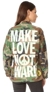 Куртка Make Love Not War Madeworn Rock
