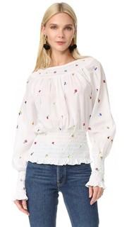 Блуза со сборками Suno