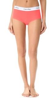 Современные трусики-шортики из хлопка Calvin Klein Underwear