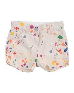 Джинсовые шорты Stella Mccartney Kids
