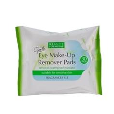BEAUTY FORMULAS Диски для снятия макияжа с глаз для чувствительной кожи 30 шт.