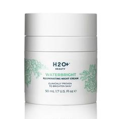 H2O+ Крем для лица выравнивающий тон, ночной Waterbright 50 мл