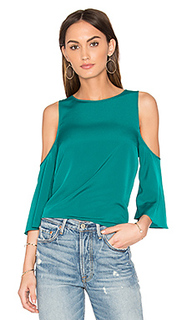 Cold shoulder flounce top - 1. STATE