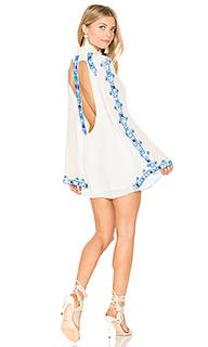 Мини-платье с длинным рукавом - ROCOCO SAND