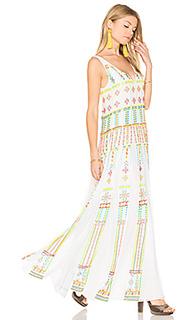Long pleated dress - ROCOCO SAND
