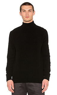 Mockneck knit sweater - Maiden Noir