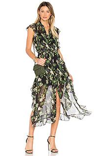 Платье с принтом ruth - Marissa Webb