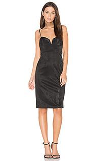 Платье с металлическим отливом alexandra - Bardot
