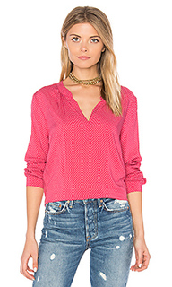Jena v neck blouse - Velvet by Graham & Spencer