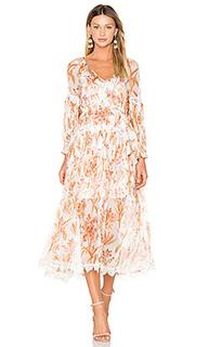 Oleander crinkle slouch dress - Zimmermann