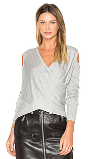 Cross front cut out shoulder sweater - DEREK LAM 10 CROSBY