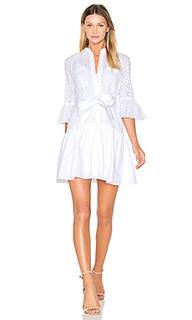 Button down ruffled hem shirt dress - DEREK LAM 10 CROSBY