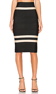 Clara fitted midi skirt - LOLITTA