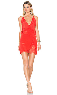 Мини платье с запахом - Michelle Mason